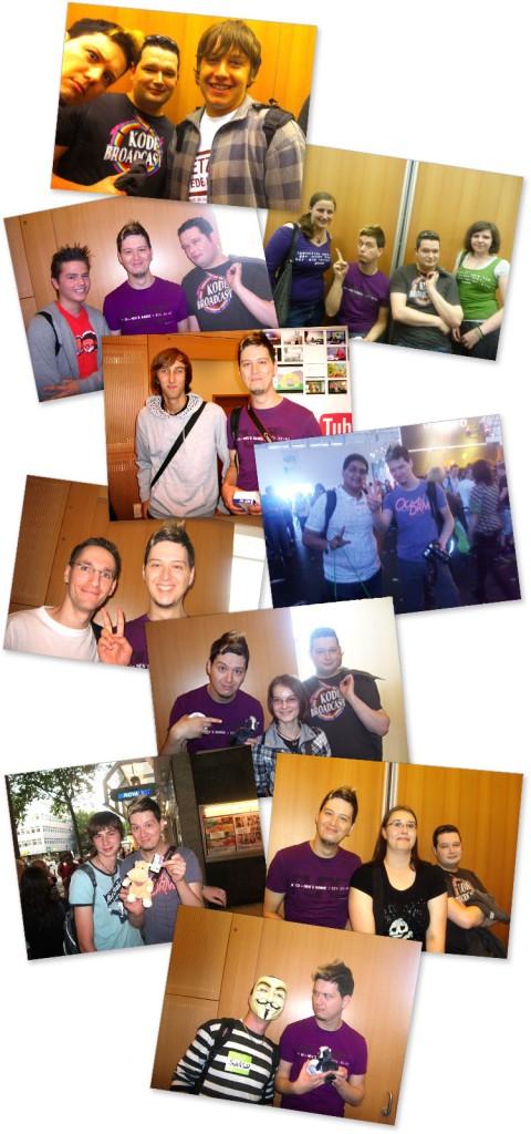 Fotos von Manniac mit anderen YouTubern